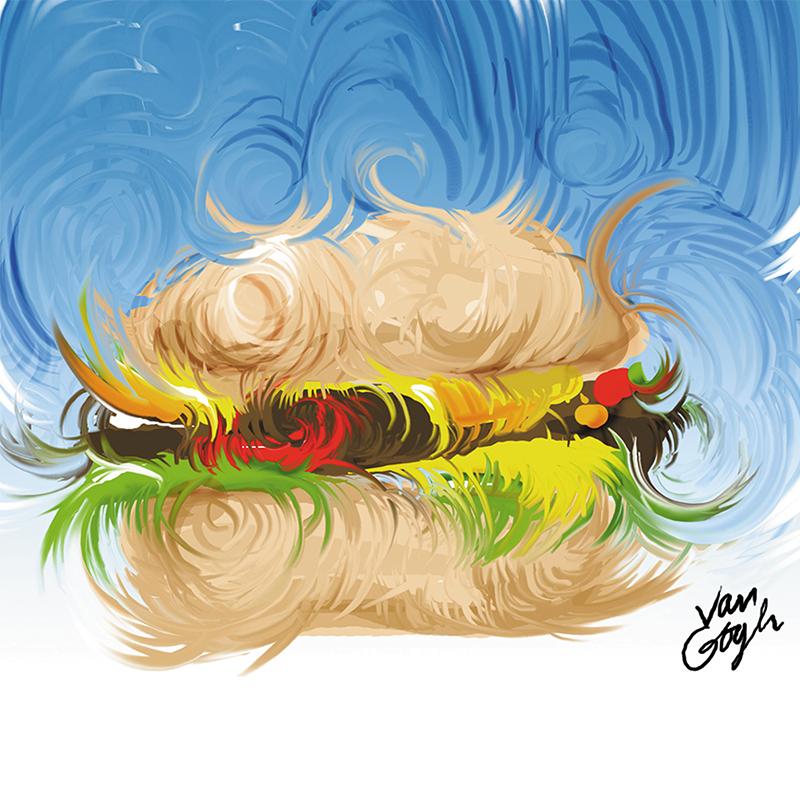 Van Gogh Burger