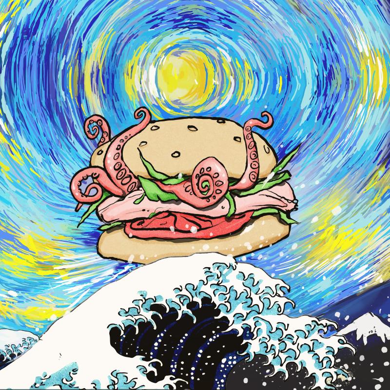 Hokusai Burger