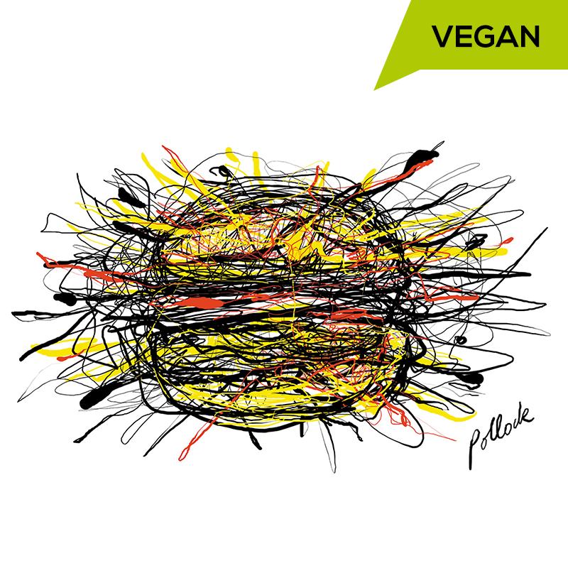 Pollock Burger Vegan
