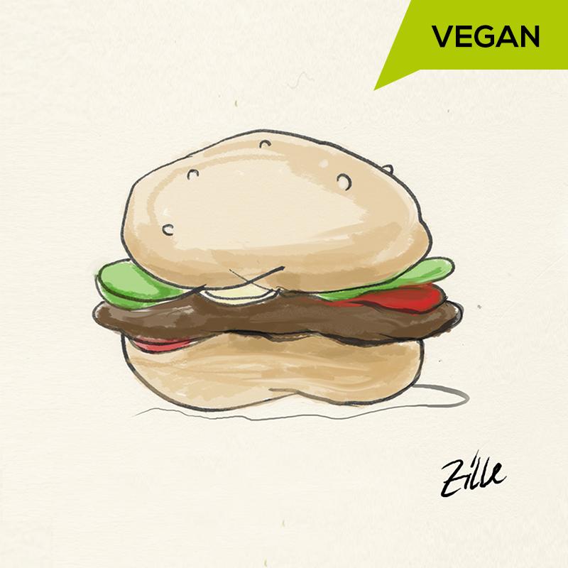 Zille Burger <br>Vegan